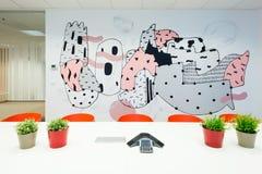 Office interiors created by Kivvi architects, Bratislava, Slovakia Royalty Free Stock Image