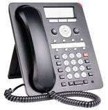 Office IP telephone isolated Stock Images