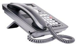 Office IP telephone isolated on white Stock Photo