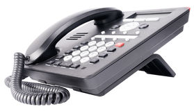 Office IP telephone with LCD Royalty Free Stock Image