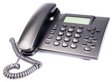Office IP telephone set Stock Image