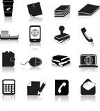 Office items Royalty Free Stock Photography