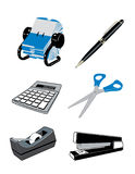 Office Items Stock Photo