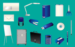 Office items Stock Image
