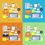 Office Items and Elements Royalty Free Stock Image