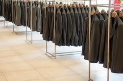 Office jackets rows Royalty Free Stock Photos