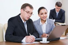 Office job Stock Photo