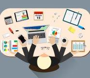 Office job stress work Stock Photo