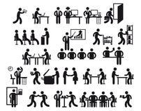 Office jobs Stock Photo