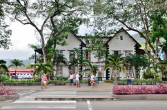 The office of The Judiciary – Supreme court of Seychelles. Royalty Free Stock Photo