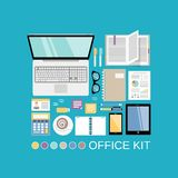 Office kit decorative Stock Images