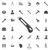 Office Knife Icon Royalty Free Stock Images
