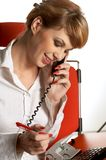 Office lady Royalty Free Stock Photo