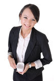 Office lady stock photo