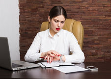 Office lady Stock Photo