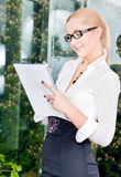 Office lady Royalty Free Stock Images