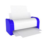 Office Laser Printer. 3d illustration Royalty Free Stock Photography