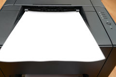 Office laser printer Stock Images