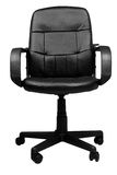 Office Leather Chair isolated Stock Image