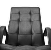 Office leather chair isolated Royalty Free Stock Photos