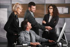 Office life Stock Image