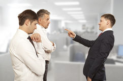 Office life. Business conflict concept Stock Photography