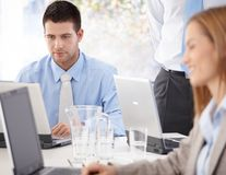 Office life Royalty Free Stock Image