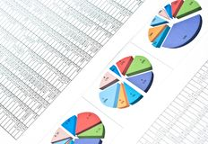 Office line Stock Image