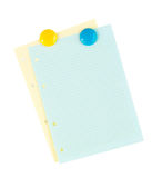 Office lined paper Stock Images