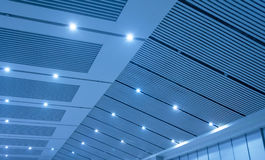 Office lobby ceiling Stock Image