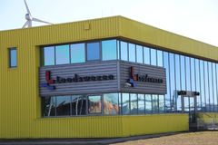 Office of Loodswezen, organisation responsible for pilots of sea vessels to guide stock photos