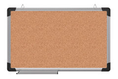 Office magnetic board. The material is cork Stock Photography