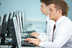 Office man Royalty Free Stock Photography