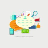 Office Management Royalty Free Stock Images