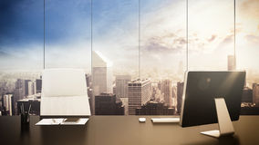 Office management Royalty Free Stock Photo