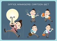 Office Manager Man Vector Stock Photo