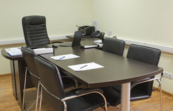 Office of a manager, ready for meeting Stock Photo