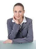 Office manager (reception desk worker) Royalty Free Stock Photography