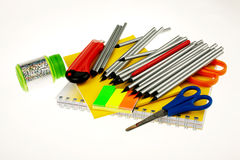 Office materials Royalty Free Stock Photography