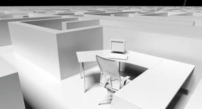 Office maze Stock Photos