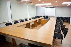 Office meeting room with board royalty free stock photos