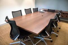 Office Meeting Room Long Table And Chairs Royalty Free Stock Photo