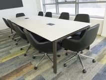 Office meeting room Stock Images