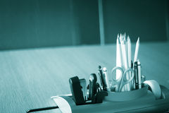Office meeting room pencils Royalty Free Stock Photo