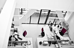 Office modern architecture. Interior modern design for offices stock photo