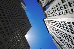 Office modern buildings Royalty Free Stock Images