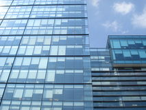 Office modern glass building royalty free stock photo