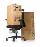 Office move Stock Photography