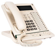 Office multi-button digital telephone Stock Images