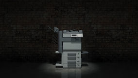 Office multifunction printer Royalty Free Stock Photo